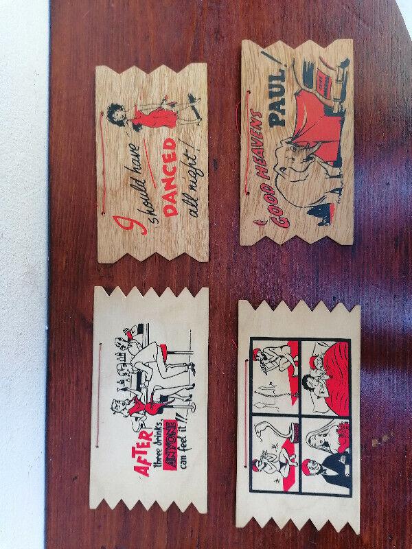 4  Joke Bar wall plaques