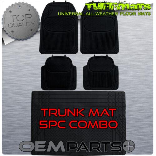 Floor Mats SET w TRUNK Fit Coupes Sedans Crossover SUV Van Heavy Duty
