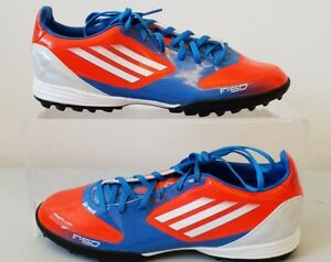 detailed look 89f80 02f1b Image is loading Adidas-F10-TRX-TF-Astro-Turf-Football-Shoes-
