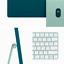 "thumbnail 4 - Apple 24"" iMac 4.5K Retina Display M1 8GB 256GB SSD Green MGPH3LL/A 2021 Model"