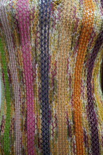 Stripe Scollo Maglieria Blend a 40 Maglia V Cotton larga Multicolor Missoni Top aqAwSF45n