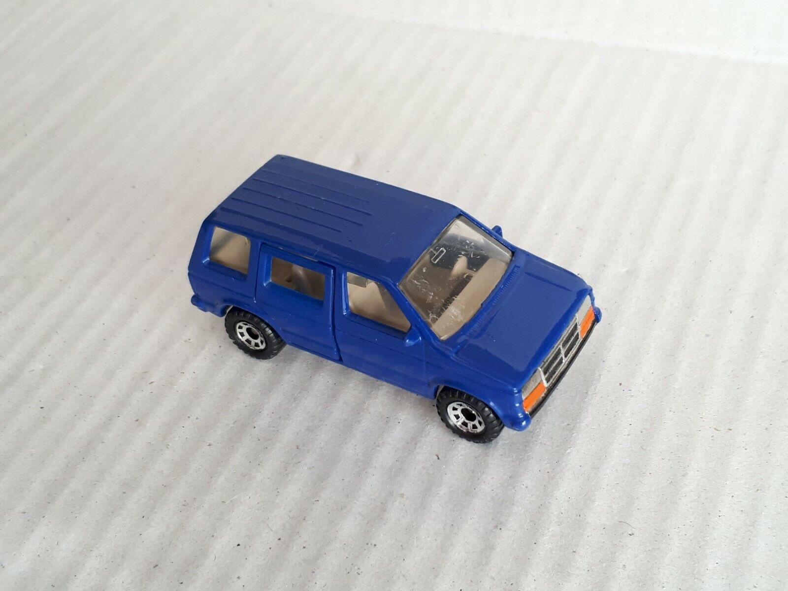Matchbox Chrysler Voyager Dodge Caravan In bluee HTF Belgian Promo   Exc.   Loose