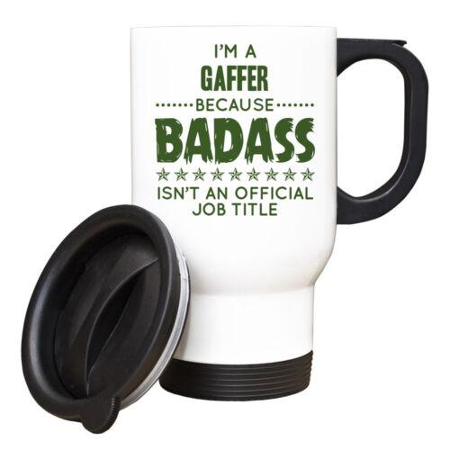 Im a Gaffer Because BADASS isnt an official job title Mug 088