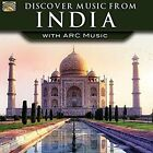 Discover Music From India With Arc Music 5019396261525 by Various Artists CD