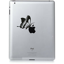 BUTTERFLY. Apple iPad Mac Macbook Sticker Vinyl decal. Custom colour
