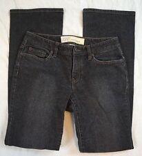Ann Taylor Loft Curvy Boot Womens Black Jeans Size 6 (H23#3040)