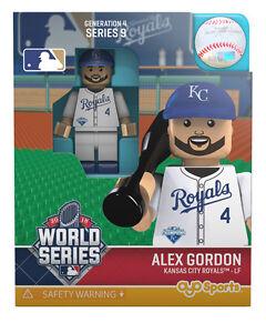 ALEX GORDON 2015 WORLD SERIES KANSAS CITY ROYALS OYO MINIFIGURE BRAND NEW