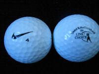 "20  NIKE  ""MIXED MODELS REFINISHED""  Golf Balls - ""PEARL/A"" Grades."