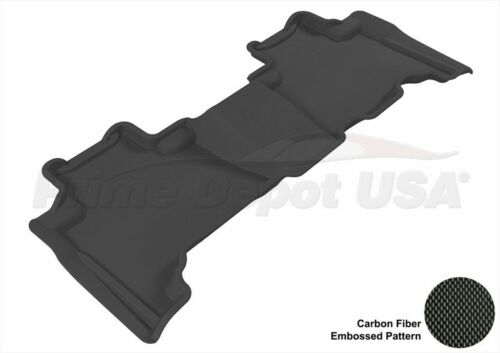 WATER RESISTANCE 3D EXACT FIT MAXpider BLACK FLOOR MAT NEVER-SLIP~GX460-2ND ROW