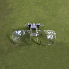 Loupe Eyeglass Lens Folding Magnifying Glasses Clip on Precise Magnifier Flip
