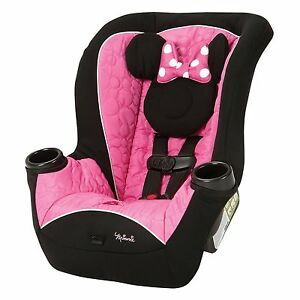 Disney Minnie Mouse Infant Toddler Baby Convertible Grow With Me Car ...