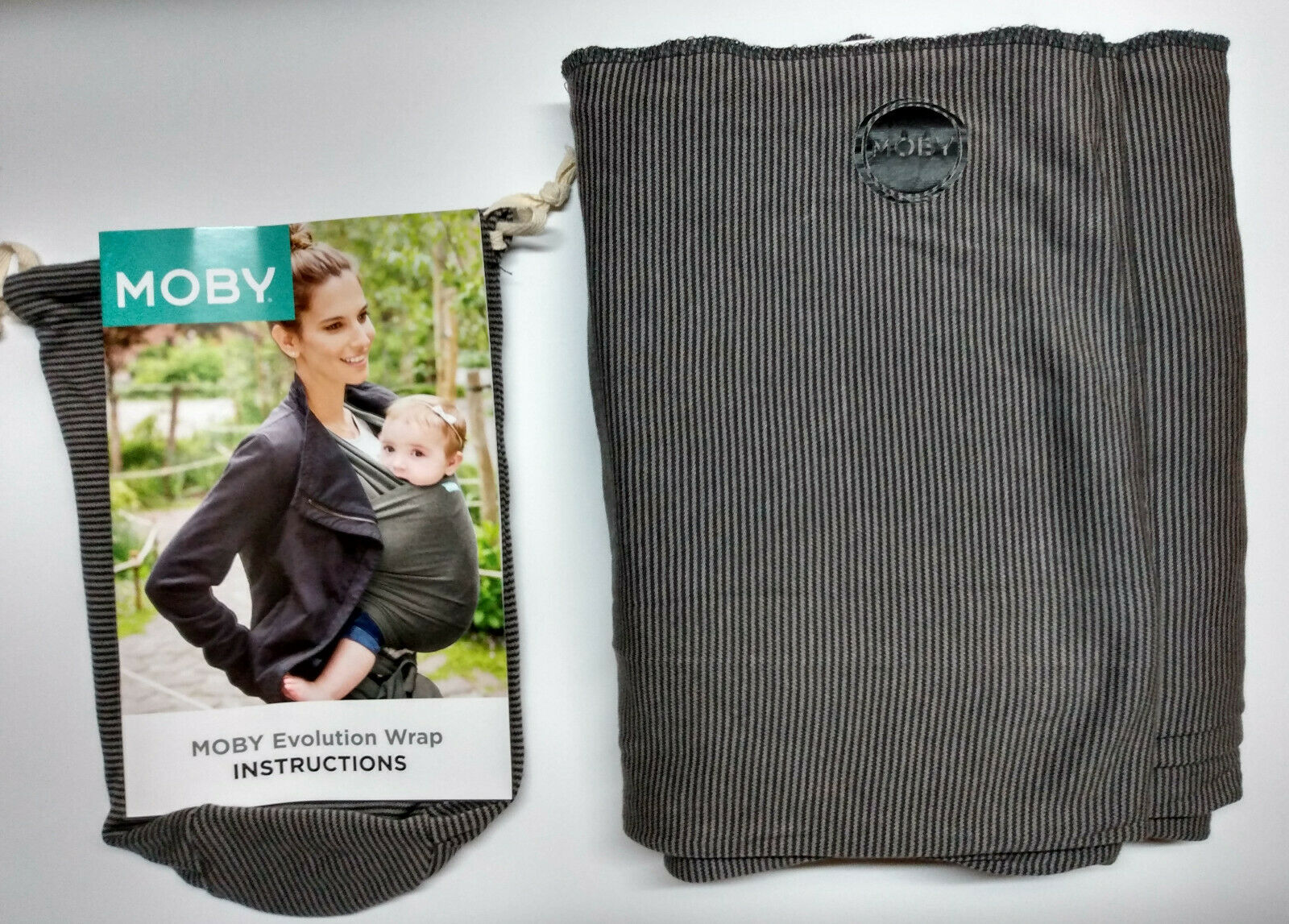 USED Moby Bamboo Grey Stripes