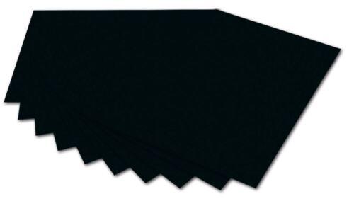 10x FOLIA fotokarton Noir 50x70cm Bastelpapier TONKARTON coloré arc