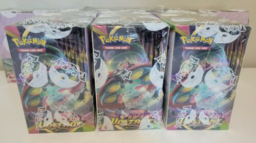 [10 PACKS] VIVID VOLTAGE Booster Pack Lot. Factory Sealed From Box Pokemon Cards