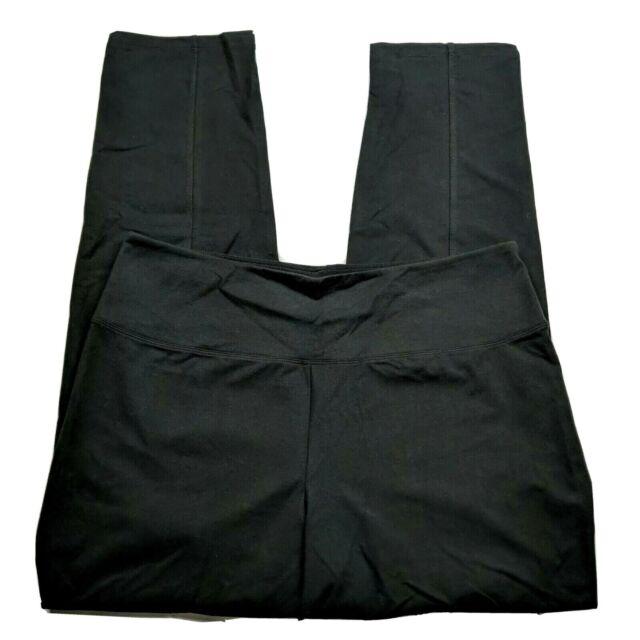 Women with Control Regular Tummy Control Tushy Lifter SlimLeg Pants//Black//Large