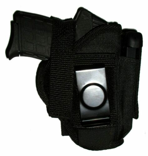USA Mfg Belt N Hip Pistol Holster W// Mag Holder Chiefs Special CS9 CS40 CS45 osw