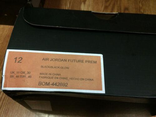 Ds Future Échantillon Glow Air avec boîte Sz 12 Jordan CxstrdhQ