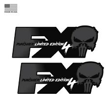 Ford F250 Fx4 Offroad Punisher Edition Decals Stickers Super Duty Off Road Bed