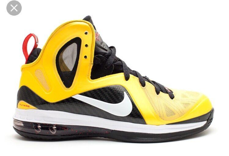 info for b64e6 b00f2 Nike Air Air Air LeBron 9 IX P.S. Elite taxi 2018 MVP Basketball 516958-700  DS cómodos zapatos nuevos para hombres y mujeres, el limitado tiempo de ...
