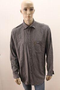 Camicia-ARMANI-JEANS-Uomo-Shirt-Chemise-Camisa-Blusa-Man-Taglia-Size-XL