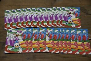 24-Pack-Vintage-WALT-DISNEY-Christmas-cards-Donald-and-Daisy-Duck-4-5x6-5