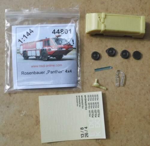 Bomberos rosas Bauer Panther 4x4-Aeropuerto de explotación de BS-Design 1:144