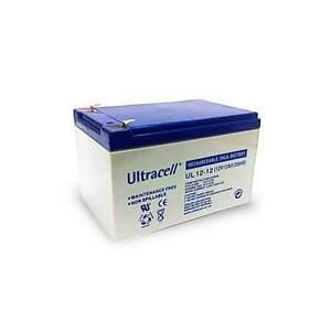 Batteria-ricaricabile-al-piombo-12V-12Ah-Ultracell-Europea