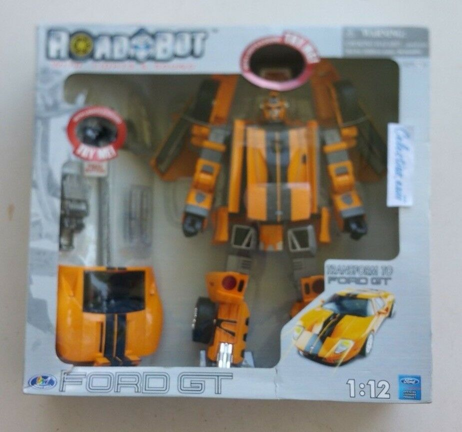 ROADBOT 1 12 scale 15'' 38cm FORD GT transformable action figure, New