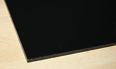 1 Hart PVC Kunststoffplatte dunkelgrau 120x245x10mm