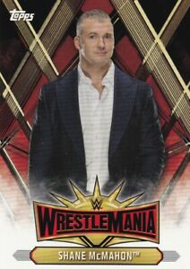 2019-Topps-Wwe-Road-To-Wrestlemania-Roster-Cartas-WM-16-Shane-Mcmahon
