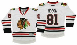 Reebok NHL Youth Chicago Blackhawks Marian Hossa  81 Premium Jersey ... 861f204c4