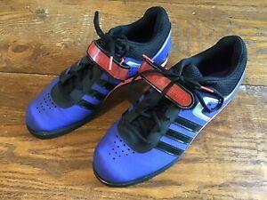 legjobb árak divat stílusok nincs eladási adó Men's Adidas YYA 606001 Size 11.5 Blue Powerlift Weightlifting ...