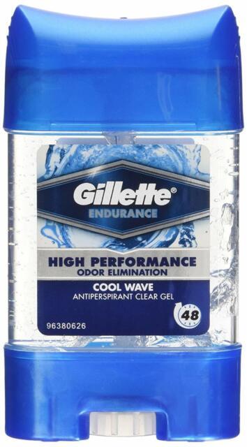 Gillette Endurance Deodorant 70ml(lot de 3)