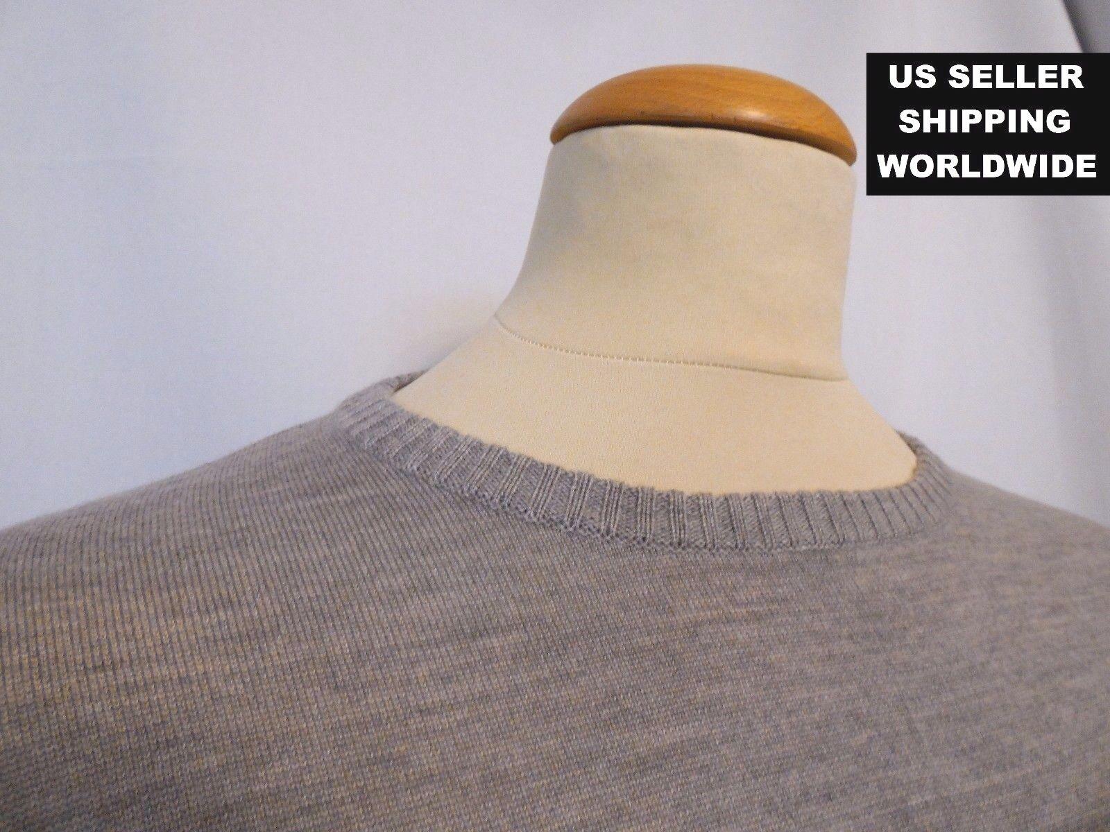 475.00 WoolSilkCashmere Blend BILLY REID grau XXL schweißer Please Make An Offer