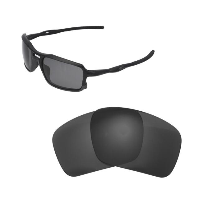ad8d24ad9c4 New Walleva Black Polarized Replacement Lenses For Oakley Triggerman  Sunglasses