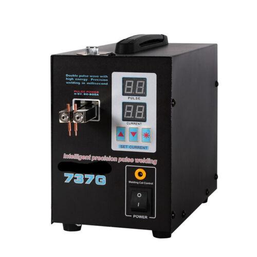 737G Pulse Punktschweißgerät 1.5KW Battery Spot Welder Pulse /& Current Maschine
