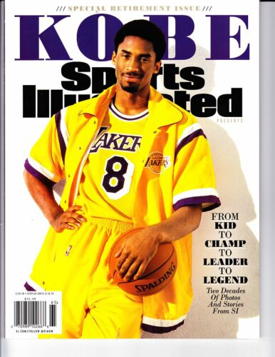 2016 Kobe Bryant L.A Lakers Sports Illustrated Special Retirement Issue HOT!