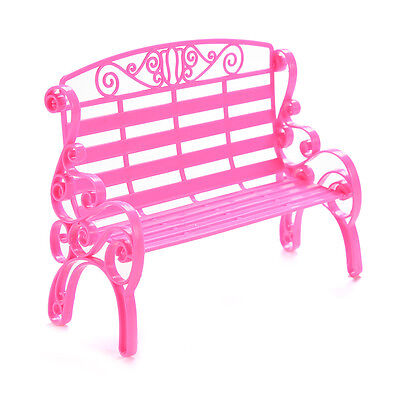 1 X Kids Dollhouse Furniture Double Chairs for Barbies Classic Play House Toys