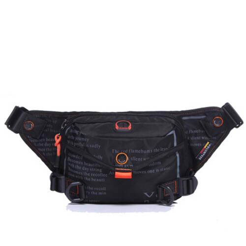 Men/'s Oxford Waist Fanny Bag Hiking Waterproof Sports Hip Bum Purse Belt Pack