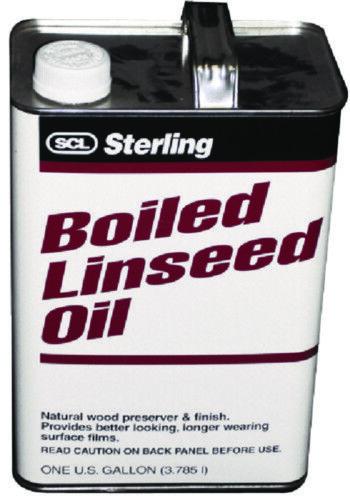Sterling Barca Marino Bolliti Olio di Semi di Lino 1 Gallone Velocità Pellicola