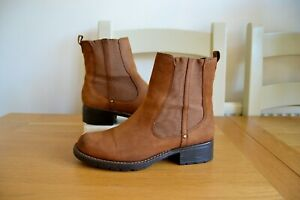 CLARK-S-ARTISAN-ORINOCO-CLUB-CHESTNUT-SNUFF-LEATHER-ANKLE-BOOTS-UK-5D-RRP-75-00