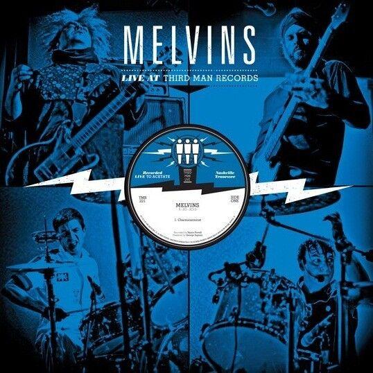 MELVINS Live at Third Man 5-30-13 NEW Vinyl LP king buzzo tribute bash acetate