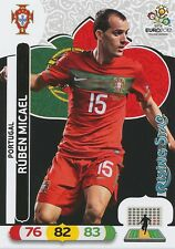 RUBEN MICAEL # RISING STAR 1/30 PORTUGAL CARD PANINI ADRENALYN EURO 2012
