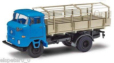 Busch 95224 ESPEWE: IFA W50 LA PV mit Spriegelgestell, Blau, H0 Auto Modell 1:87