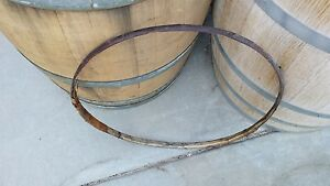 Used Wine Barrel Willow Hoop Band Free Shipping Ebay