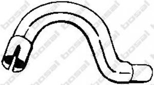 Abgasrohr für Abgasanlage BOSAL 733-945