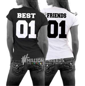 Fun Partner  Freundinnen Beste Freunde T-Shirt Best Friends 01 Sister