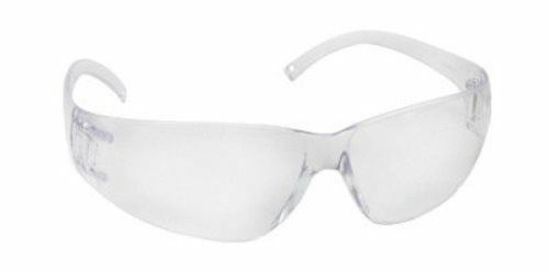 Safety Glasses Clear Frame Clear Polycarbonate Anti-Scratch Lens 12 Pack