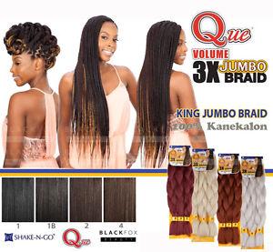 QUE-VOLUME-3X-KING-JUMBO-BRAID-100-Kanekalon-SYNTHETIC-BRAID-HAIR