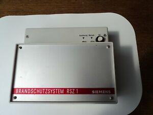 Rauchschutzzentrale -FSZ1 Siemens - Limeshain, Deutschland - Rauchschutzzentrale -FSZ1 Siemens - Limeshain, Deutschland